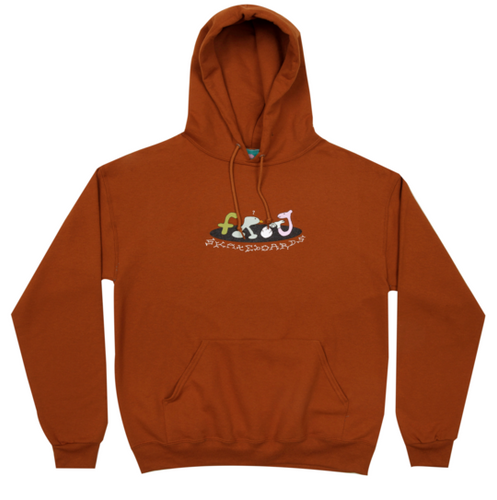 Frog Egg Breaker Hoody - Burnt Orange