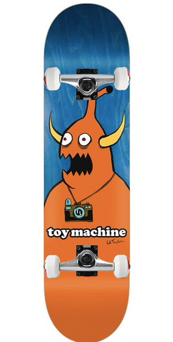 Toy Machine Templeton Camera Monster Complete - 8.5