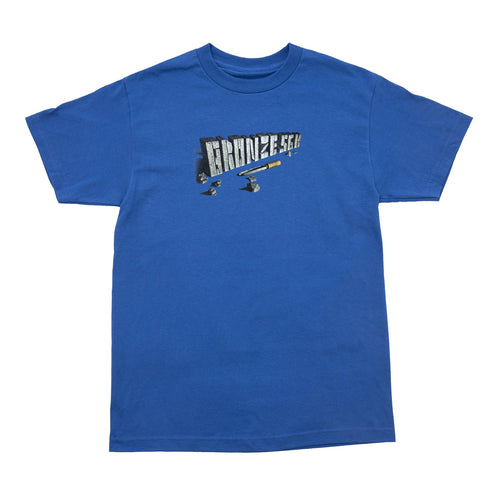 Bronze 56K Chisel Tee - Royal Blue