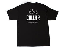 Load image into Gallery viewer, Blue Collar OG Stack Tee - Black