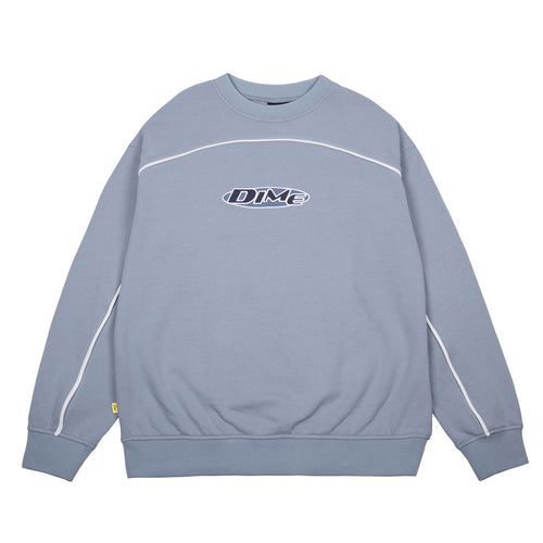 Dime Piping Crewneck - Light Blue