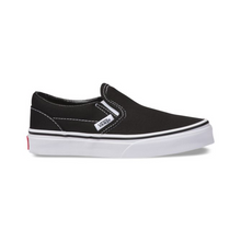 Load image into Gallery viewer, Vans Kids Classic Slip-On - Black/True White