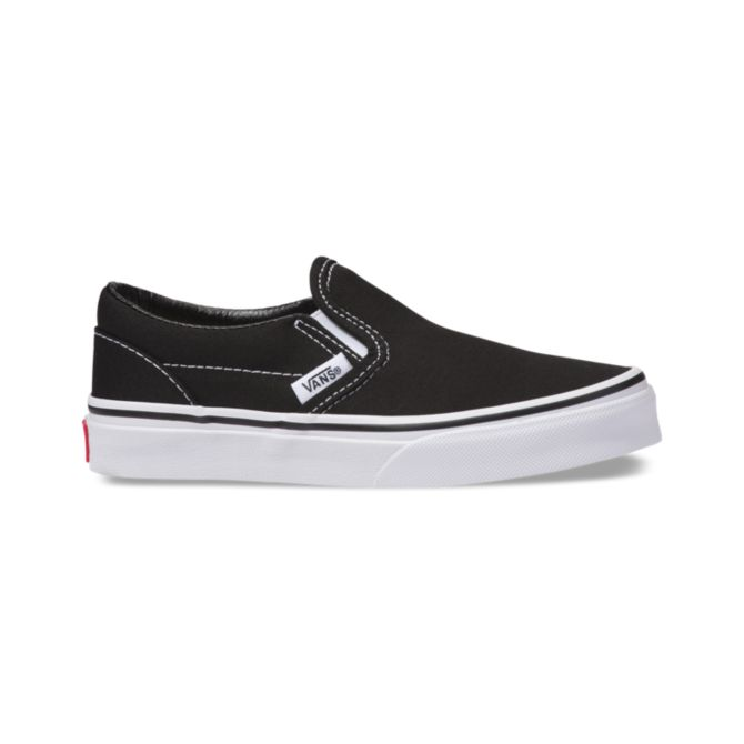 Vans Kids Classic Slip-On - Black/True White