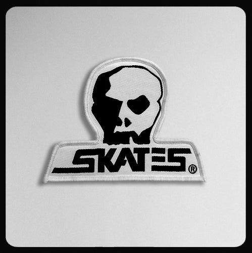 Skull Skates Small Die Cut Patch