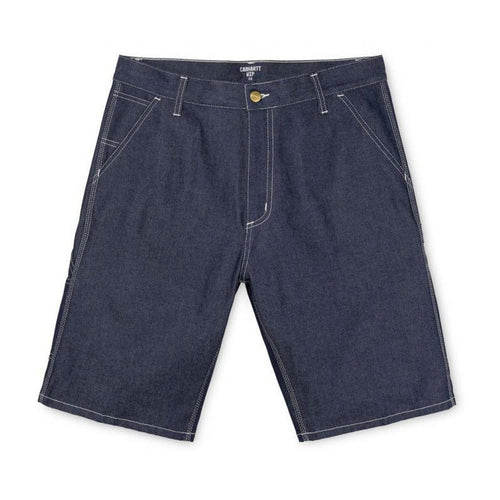 Carhartt WIP Ruck Single Knee Short - Blue Rigid Denim