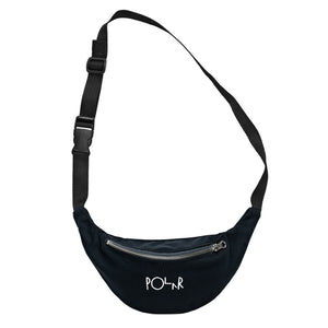 Polar Script Logo Hip Bag - Black