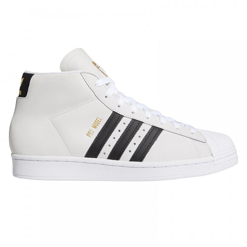 Adidas Pro Model - White/Black/Gold Metallic