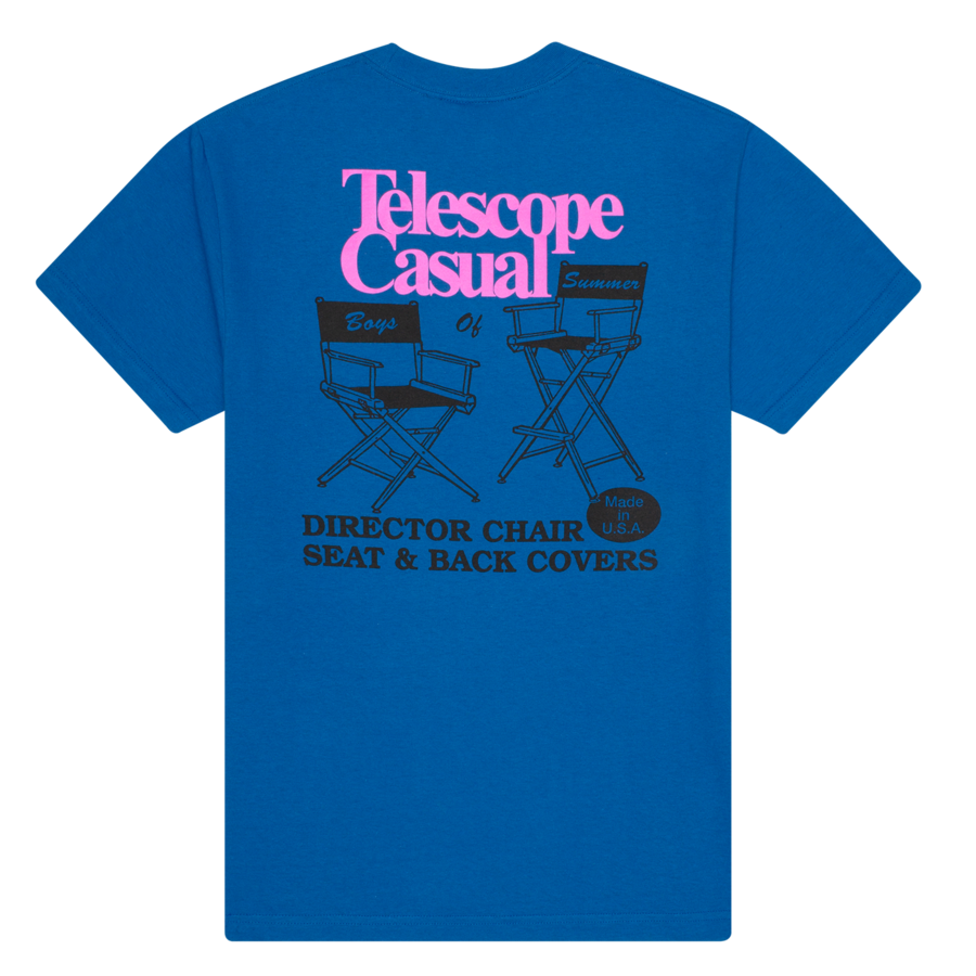 Boys Of Summer Telescope Casual Tee - Royal Blue