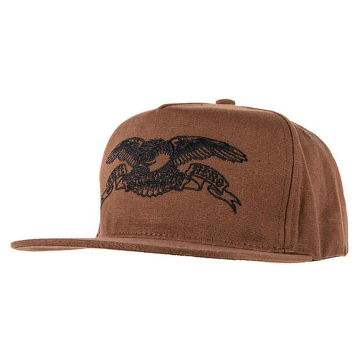 Antihero Basic Eagle Patch Snapback - Brown/Black