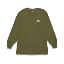 Load image into Gallery viewer, Quartersnacks Classic Snackman L/S Tee - Olive