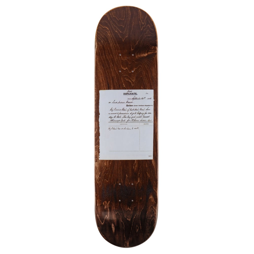 Colonialism Pass System Woodgrain Reissue Deck