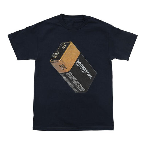 Bronze 56K Battery Tee - Navy