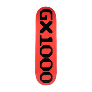GX1000 OG Logo Deck Red - 8.625