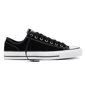 Converse CTAS Low Suede - Black/Black/White