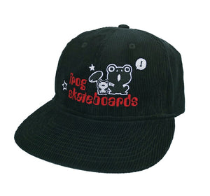 Frog Skateboards Hat - Black