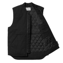 Load image into Gallery viewer, Carhartt WIP Dearborn Canvas Spring Vest - Black