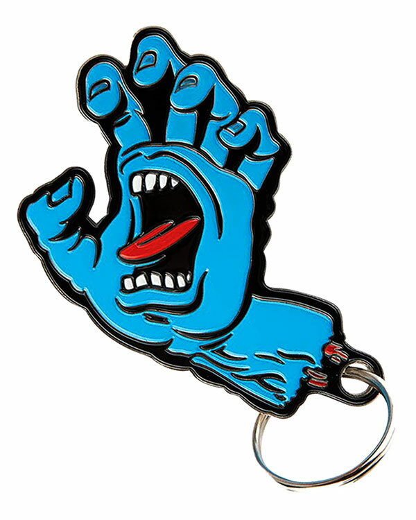 Santa Cruz Screaming Hand Keychain