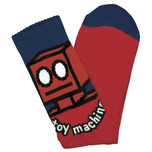 Toy Machine Robot Socks - Red