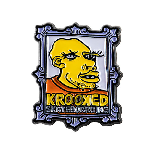 Krooked Frame Face Pin