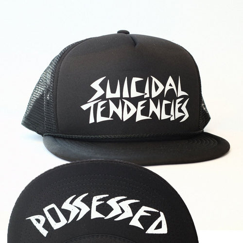 Dogtown Suicidal Possessed To Skate Mesh Back Cap