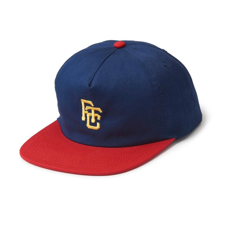 FTC Field 6 Panel Hat - Navy/Red