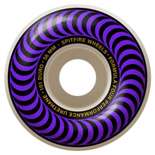 Load image into Gallery viewer, Spitfire Formula Four Classic Swirl Wheels - 101D 58mm