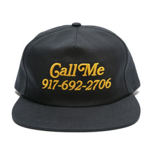 Load image into Gallery viewer, Call Me 917 Hat - Black