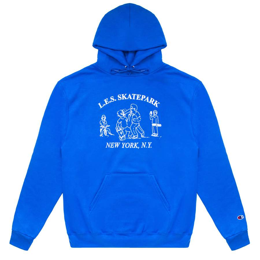 Quartersnacks L.E.S. Park Hoody - Royal