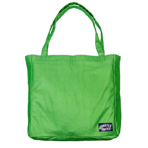 Quartersnacks Mesh Tote - Lime