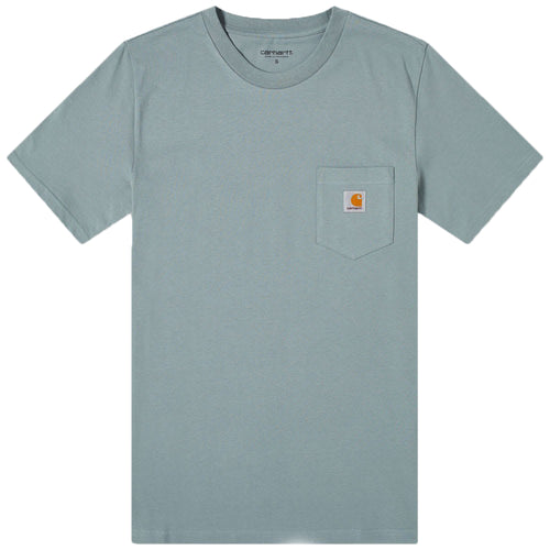 Carhartt WIP S/S Pocket T-Shirt - Cloudy