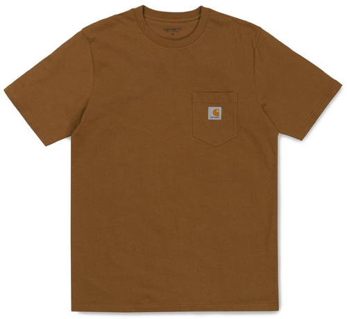 Carhartt WIP Pocket Tee - Hamilton Brown