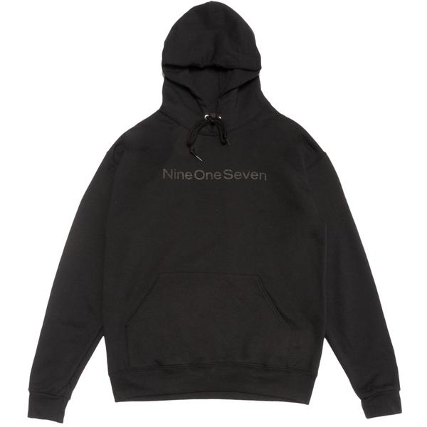 Call Me 917 Logotype Pullover Hood - Black