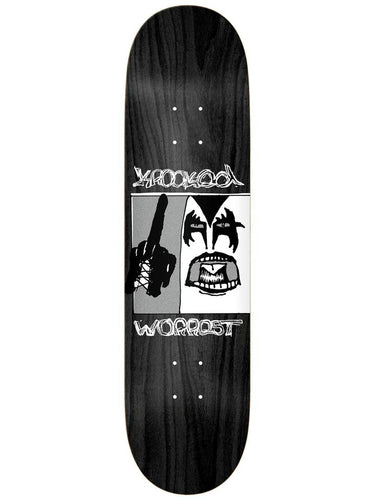 Krooked Worrest Destroyer Twin Tail Slick Deck - 8.3