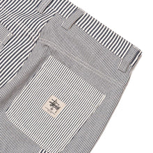 Load image into Gallery viewer, Stussy Mixed Stripe Work Pant - Hickory