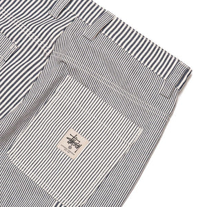 Stussy Mixed Stripe Work Pant - Hickory