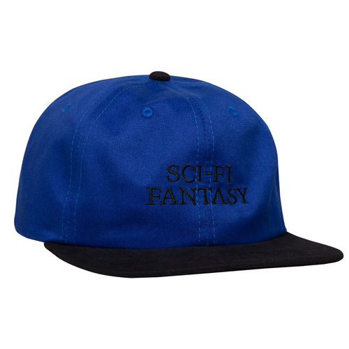 Sci-Fi Fantasy Logo Hat - Blue/Black