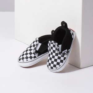 Vans Infant Slip-On Crib - Checker Black/True White