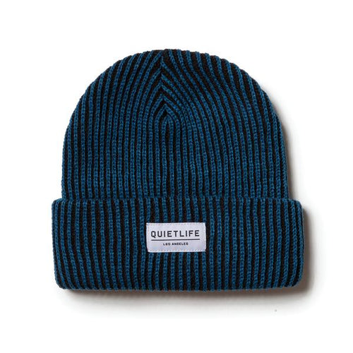 The Quiet Life Vertical Beanie - Blue