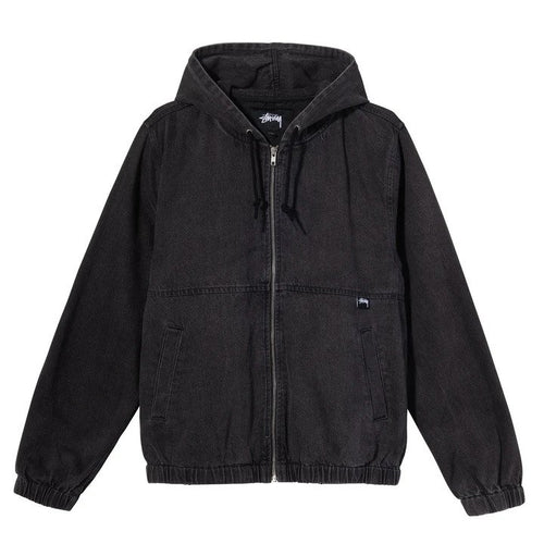 Stussy Denim Work Jacket - Black