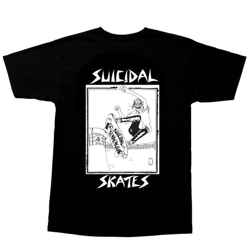 Dogtown Suicidal Tendencies Pool Skater Tee - Black