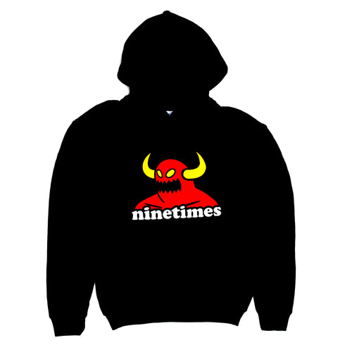 Toy Machine X Ninetimes Monster Youth Hoodie - Black