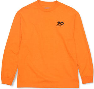 Quartersnacks Snackman Flyer Longsleeve - Orange