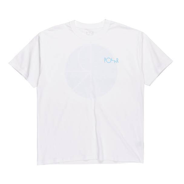 Polar Fill Logo Tee White