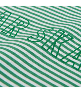 Polar Outline Stripe Tee - Green