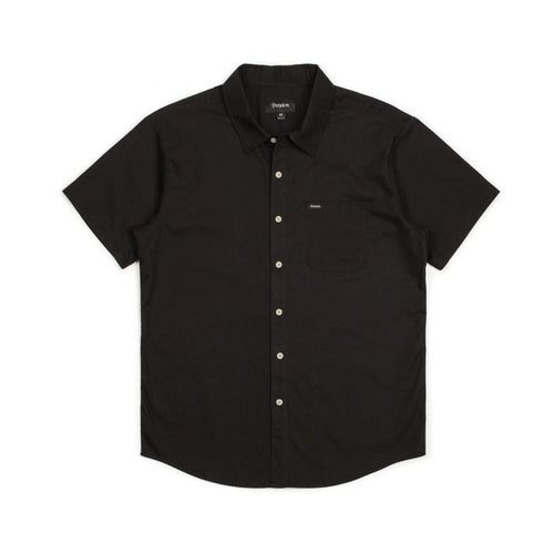 Brixton Charter Button Up - Black