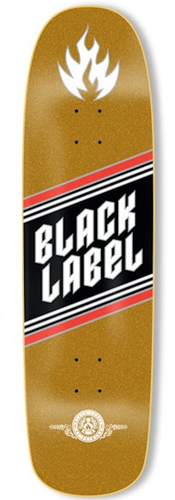 Black Label Top Shelf Gold Deck - 8.68