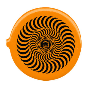 Spitfire Bighead Swirl Coin Pouch - Orange/Black