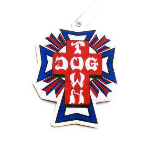 Dogtown Cross Logo USA Air Freshener - Vanilla