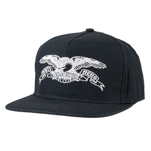 Anti Hero Basic Eagle Snapback - Navy/White