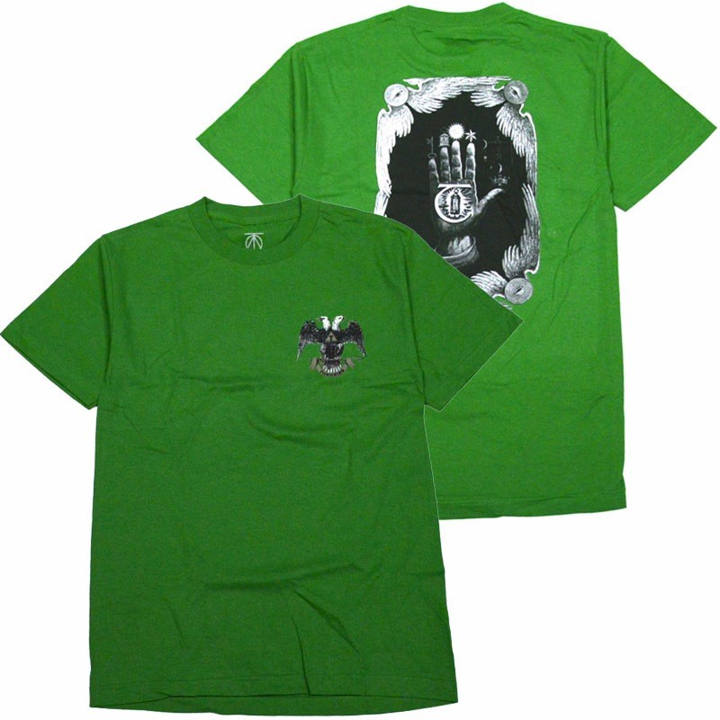 Theories Hand Of Theories Heavy Duty Tee - Kelly Green